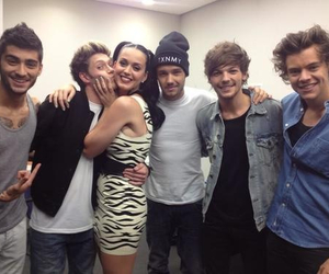 one direction, katy perry, and niall horan image