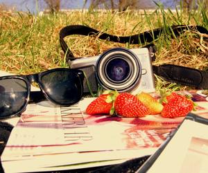 camera, summer, and magasine image