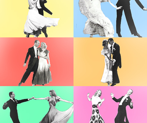 fred astaire, ginger rogers, and hollywood image