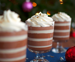 chocolate, dessert, and mousse image