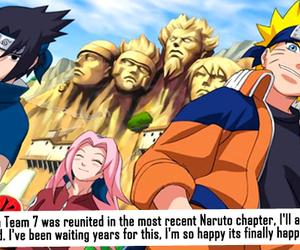 anime, confession, and naruto image