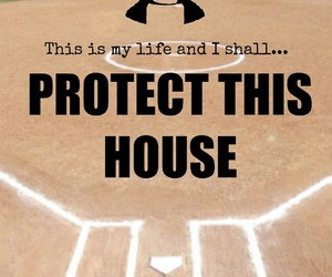 armor, quote, and softball image