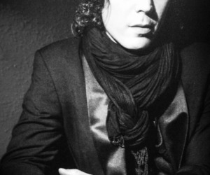 black and white, him, and ville valo image