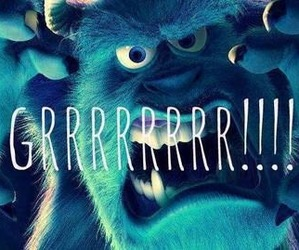 monsters inc, monster inc, and grr image
