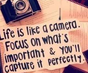camera, quote, and cute image
