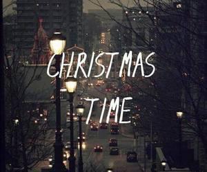 christmas, winter, and time image