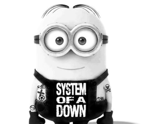 minions, punk, and rock image