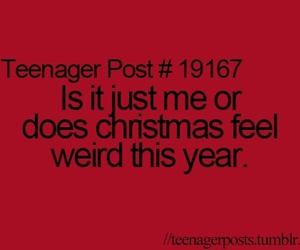 christmas, teenager post, and weird image