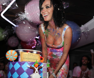 katy perry and party image