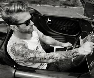 tattoo, car, and boy image