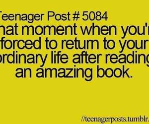 book, teenager post, and life image
