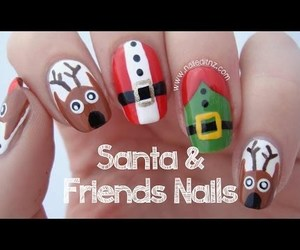nail art, nails, and add more tags image
