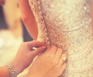 bead, dress, and simple image