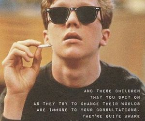 Anthony Michael Hall, david bowie, and The Breakfast Club image