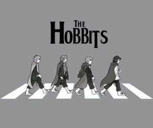 the hobbit and the beatles^ image