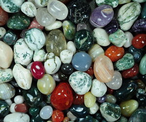 hippie, pagan, and rocks image