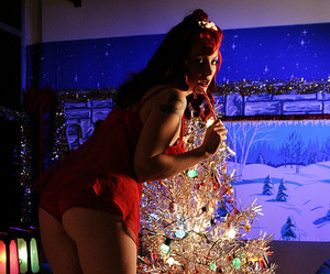 vintage christmas, oldschoolpinups, and old school pin ups image