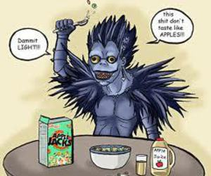 death note, deathnote, and ryuk image