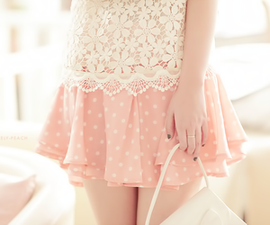 cute, pink, and kfashion image