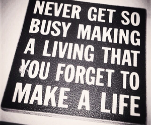 busy, life, and inspirational image