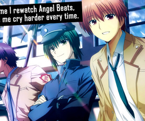 anime, confession, and angel beats image