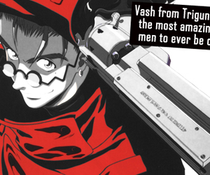 anime, confession, and trigun image