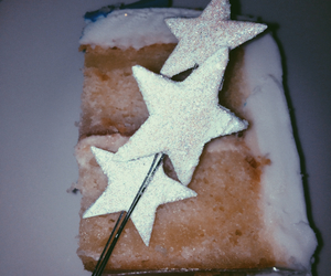 cake, filters, and stars image