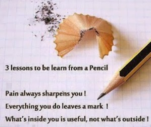 quote and pencil image