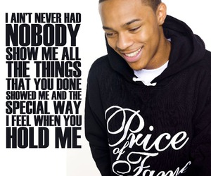 pretty, text, and bow wow image