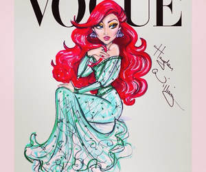 vogue, ariel, and disney image