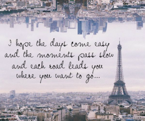 paris, quote, and city image