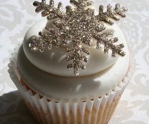 christmas, cupcake, and winter image