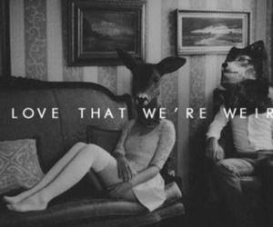 love, weird, and boy image