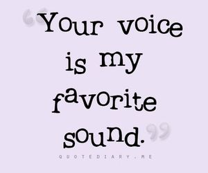 voice and love image