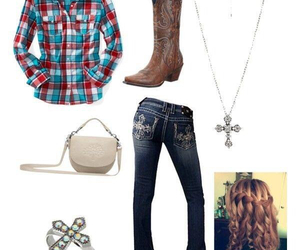 boots, jeans, and country image