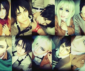 anime, cosplay, and attack on titan image