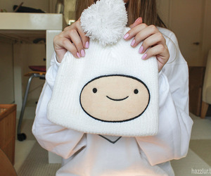 adventure time, finn, and hat image