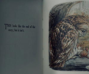 text, owl, and book image
