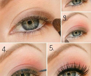 eyeshadow, makeup, and make-up image