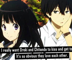 anime, confession, and hyouka image