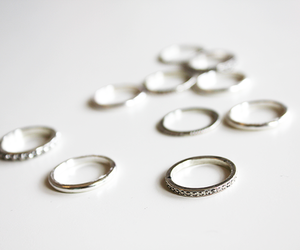 fashion, rings, and sweetmint image