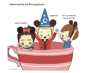 cartoon, disneyland, and louis image