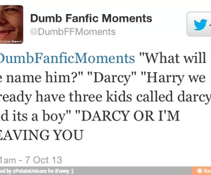 darcy, funny, and tweet image