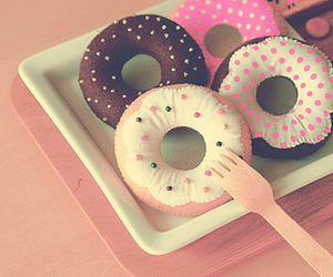 delicious, donuts, and photography image