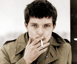 ian curtis, joy division, and black and white image