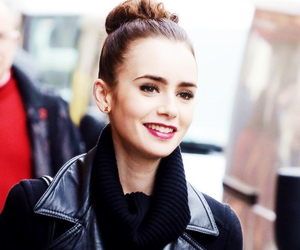 lily collins, fashion, and girl image