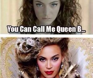 beyoncé, lorde, and queen b image
