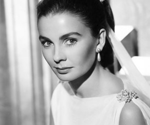 actress, white, and black image