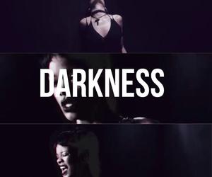 dark, Darkness, and navy image