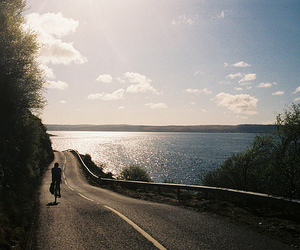 photography, road, and bike image